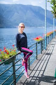 lucas hugh in lake como fitness on toast