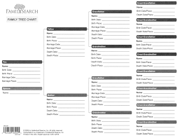 10 best images of printable family tree sheets blank family tree