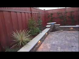 Paving Ideas For Backyards Paver Patio Backyard Makeover By Hill Construction Co