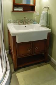 Sink Bathroom Vanity by Apron Sink Bathroom Vanity Ideas For Home Interior Decoration