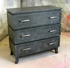 Metal Furniture Finishes Sydney Barton Painted Furniture Faux Metal Chest Of Drawers