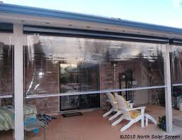 Clear Vinyl Curtains For Porch Baby Grande Clear Vinyl Heavy Duty Outdoor Shades Solar Screen