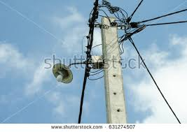 broken electric pole wire stock images royalty free images