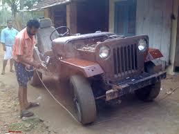 purple jeep cj mahindra cj 500d 4wd rebuild page 3 team bhp