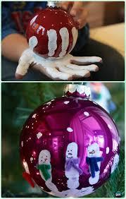 diy handprint snowman ornament diy ornament
