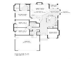 single storey bungalow floor plan 2 story house plans fresh small e single bungalow design unique plan