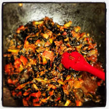 southern style wilted collard greens livinglikelinds