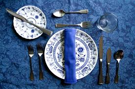 Proper Table Setting by Fine Dining Table Set Up