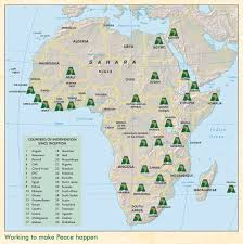Africa Countries Map by Where We Work Accord