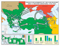 What Happened To The Ottoman Empire After Wwi by Forced Displacements And Deaths During Decline Of Ottoman Empire