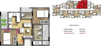 616 sq ft 2 bhk floor plan image radiance realty icon available