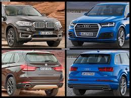 Audi Q7 2015 - 2015 audi q7 vs 2015 bmw x5 photo comparison