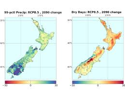 Maps New York Climate Change Climate Change Scenarios For New Zealand Niwa