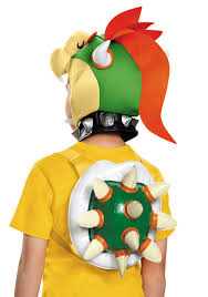 Bowser Halloween Costumes Child Bowser Kit