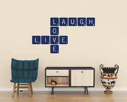 live laugh love scrabble wall art company