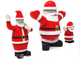 Inflatable Christmas Decorations Outdoor Cheap - inflatable father christmas santa claus with gift cheap outdoor