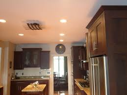 kitchen recessed lighting simple installing recessed lights in kitchen nice home design