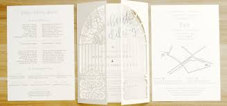 wedding invitations philippines european style gate laser cut wedding invitations philippines