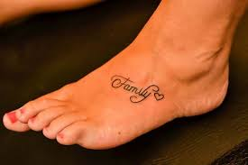 family word tattoo on feet women u2022 tattoo ideas zone tattoos