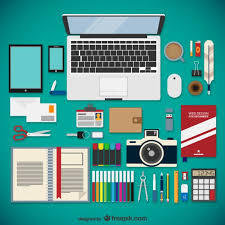 free web designer graphic design supplies web designer equipment collection vector