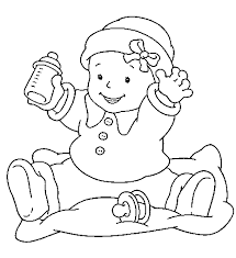 baby coloring pages 2 coloring pages kids