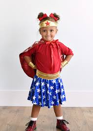 Wonder Woman Costume How To Make A Wonder Woman Costume For Kids Crazy Little Projects