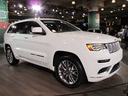 modified jeep cherokee 2017 jeep grand cherokee summit revealed live photos