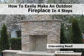 how to build your own fireplace 28 images build your own