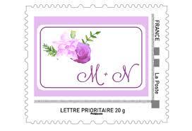 timbre personnalisã mariage la fille au noeud timbre personnalise 1 copy la fille au