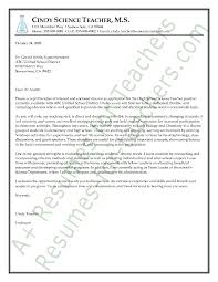 Teaching Resumes Samples by The Science Teacher Resume Sample That Compliments This Cover