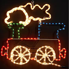 train christmas lights outdoor part 39 invisible led string