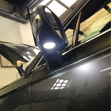 ford explorer mirror replacement aliexpress com buy 2pcs led side mirror puddle light for ford