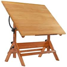 Drafting Tables 1940s Hamilton Oak Drafting Table At 1stdibs