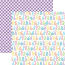easter wrapping paper reminisce happy easter bunny paper