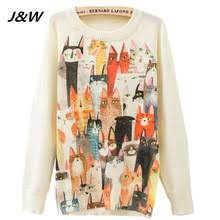 online get cheap vintage cat sweaters aliexpress com alibaba group