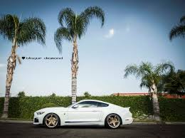 White Mustang Black Wheels 2015 Ford Mustang Roush Fitted With 20 Inch Bd 21 U0027s In Bronze With