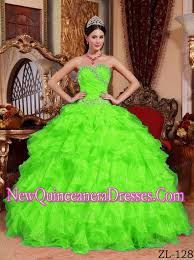 quinceanera dresses 2014 green gown sweetheart organza beading 2014 quinceanera