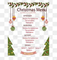 christmas menu png vectors psd and icons for free download