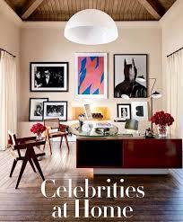 Kourtney Kardashian House Interior Design by Kourtney Kardashians Office In Architectural Digest Blue Velvet