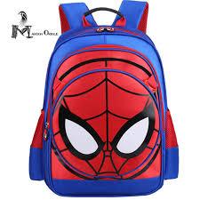 aliexpress buy spider man backpack kids bag spiderman