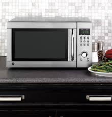 ge 1 3 cu ft countertop microwave oven jes1344sk ge appliances