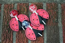 lollipop party favors personalized bug lollipop party favors by babybunsdesigns