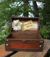 wedding wishes card box rustic wedding wishes trunk small card box wishes for the