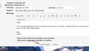 4 out of office message exles that work when you rest