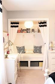 teen u0027s room u0026 closet reading nook updated less than
