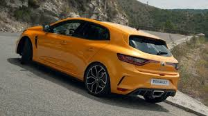 2018 renault megane r s driving footage youtube