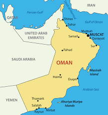 middle east map gulf of oman teaching in the middle east dynamic personnel