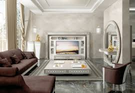 luxury tv wall unit designed and produced by vismara design