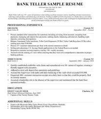 really resume exles bank teller resume sles skills are really great exles of for