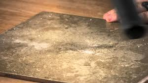 the best solutions to clean sheetrock dust ceramic floor tiles